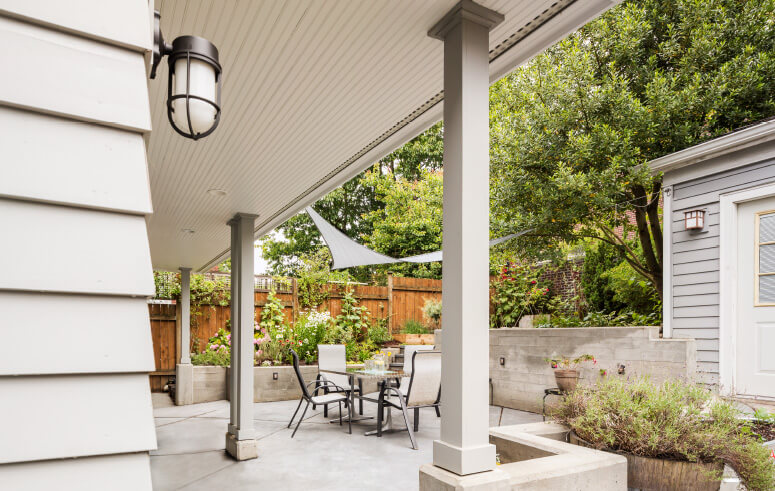 Heartwood Builders Home Patio